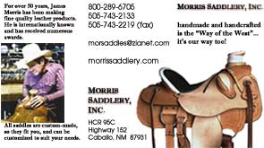 Morris Saddlery Brochure